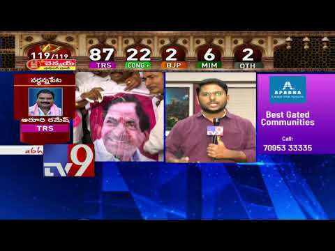KCR to reach Telangana Bhavan to address press and party cadre - TV9