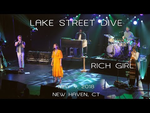 Lake Street Dive: Rich Girl [4K] 2018-05-09 - College Street Music Hall; New Haven, CT