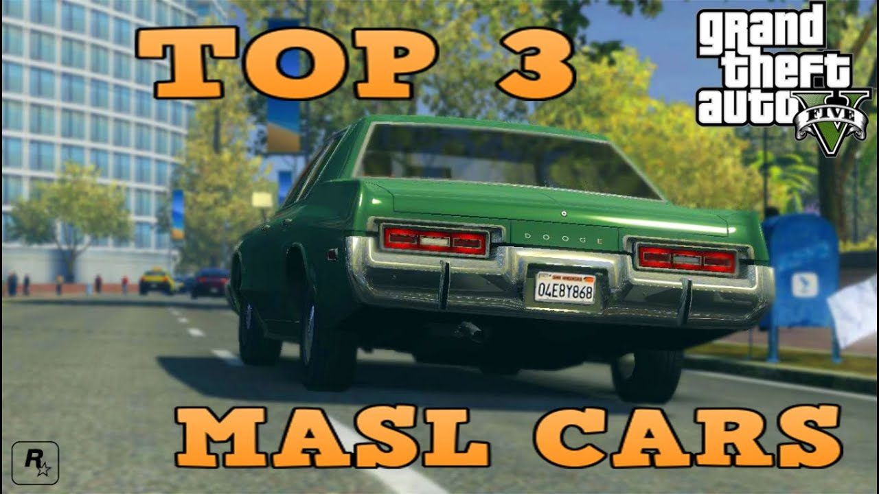 Top Muscle Cars In Gta Top Masl Karov V Gta Youtube