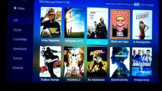 Apresentando o funcionamento do Aplicativo Cine Séries e Filmes do HTV 3