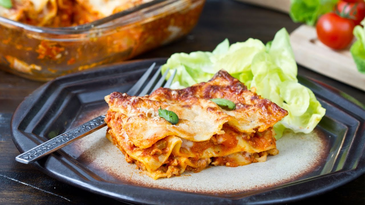 Chicken Lasagna Home Cooking Adventure