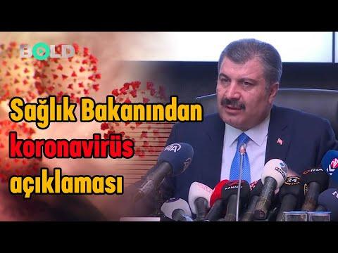 Son Dakika! Korona Virüs Türkiye'de mi? Sağlık Bakanı Fahrettin Koca açıkladı