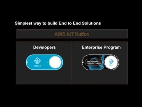 Developing Applications with the IoT Button - March 2017 AWS Online Tech Talks