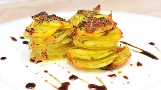 Картофель с Пармезаном / Parmesan Potato Stacks
