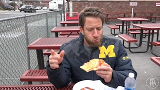 One Bite with Davey Pageviews - L & B Spumoni Gardens (Brooklyn)