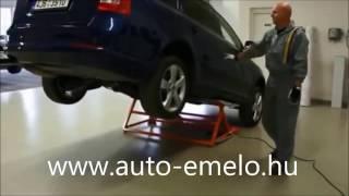 AUTOLIFT3000 mechanikus autóemelő - www.auto-emelo.hu