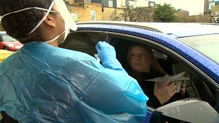 How the NHS is using 'drive-thru' coronavirus testing