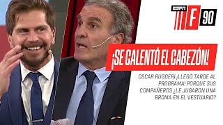 ¡SE ENOJÓ EL CABEZÓN 😂! #Ruggeri ¡LLEGÓ TARDE! porque le hicieron ¿una broma? en el vestuario