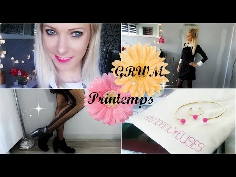 GRWM Printemps (ELF, Sephora, Née Jolie, Tendancieuses...) + Codes Promo !