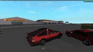 Drifting in ROBLOX Initial D