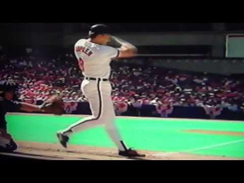 Cal Ripken Jr. Home Run Bombs In Home Run Derby At Skydome Toronto