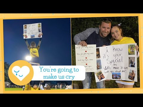 Teen Asks Stepdad To Adopt Her With Cheerleading Routine