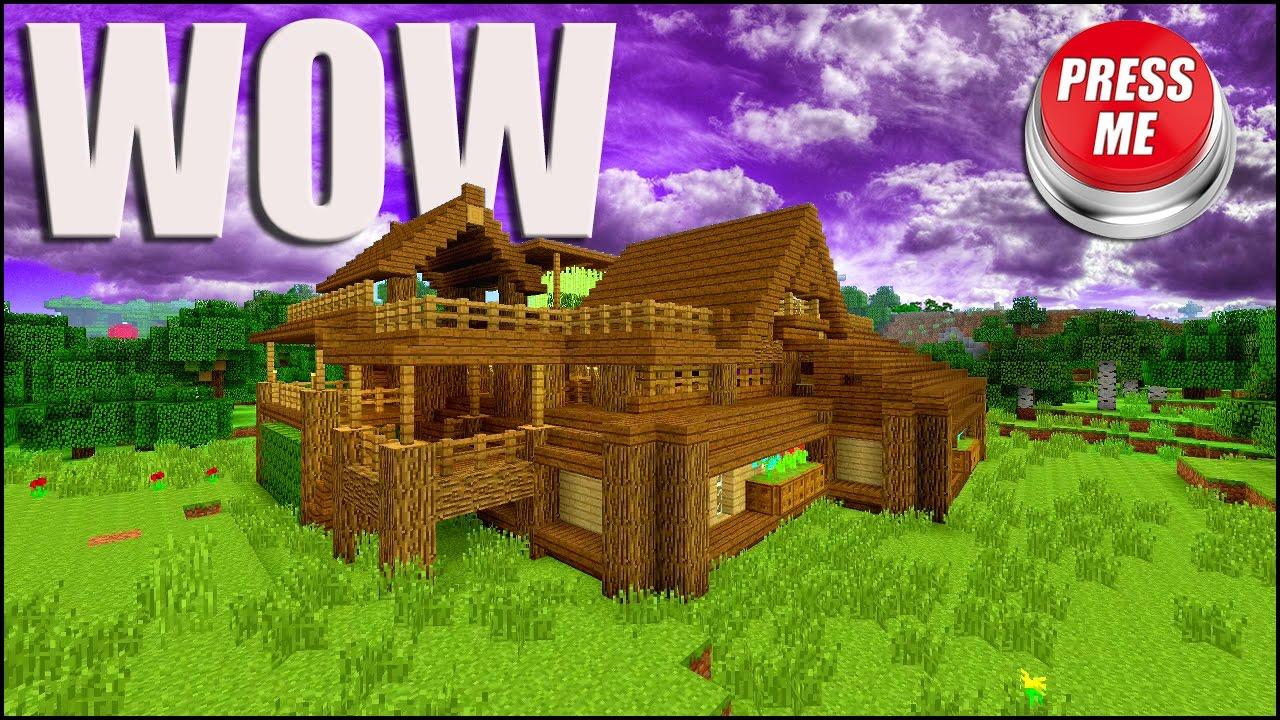 Minecraft Beautiful Garden the ultimate minecraft survival house!!! - youtube