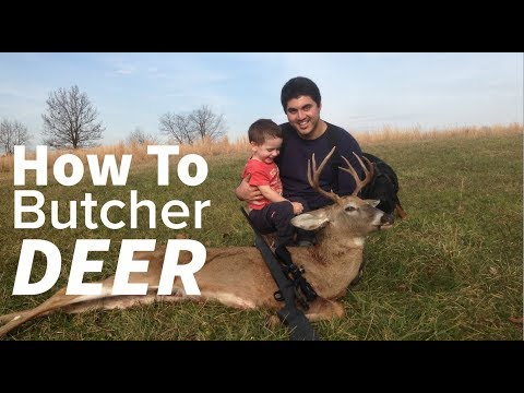 How To Process Your Own Deer