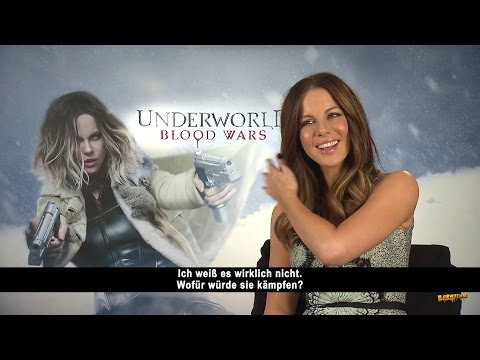Kate Beckinsale on Blade vs. Selene, Crossover & TV series - Underworld: Blood Wars Interview
