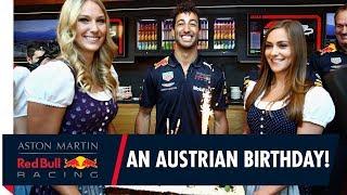 We wish Daniel Ricciardo Happy Birthday in the most Austrian way possible...