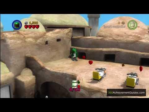 LEGO Star Wars: TCS - Minikit Guide - Episode IV: Mos Eisley Spaceport