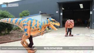 life size bbc quality realistic walking dinosaur costume t rex
