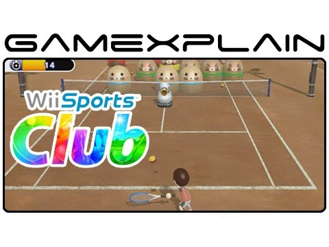 Wii Sports Club - Game & Watch (Tennis & Bowling Video Tour - Wii U)
