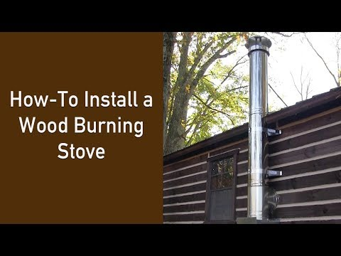 How-To Install a Wood Burning Stove