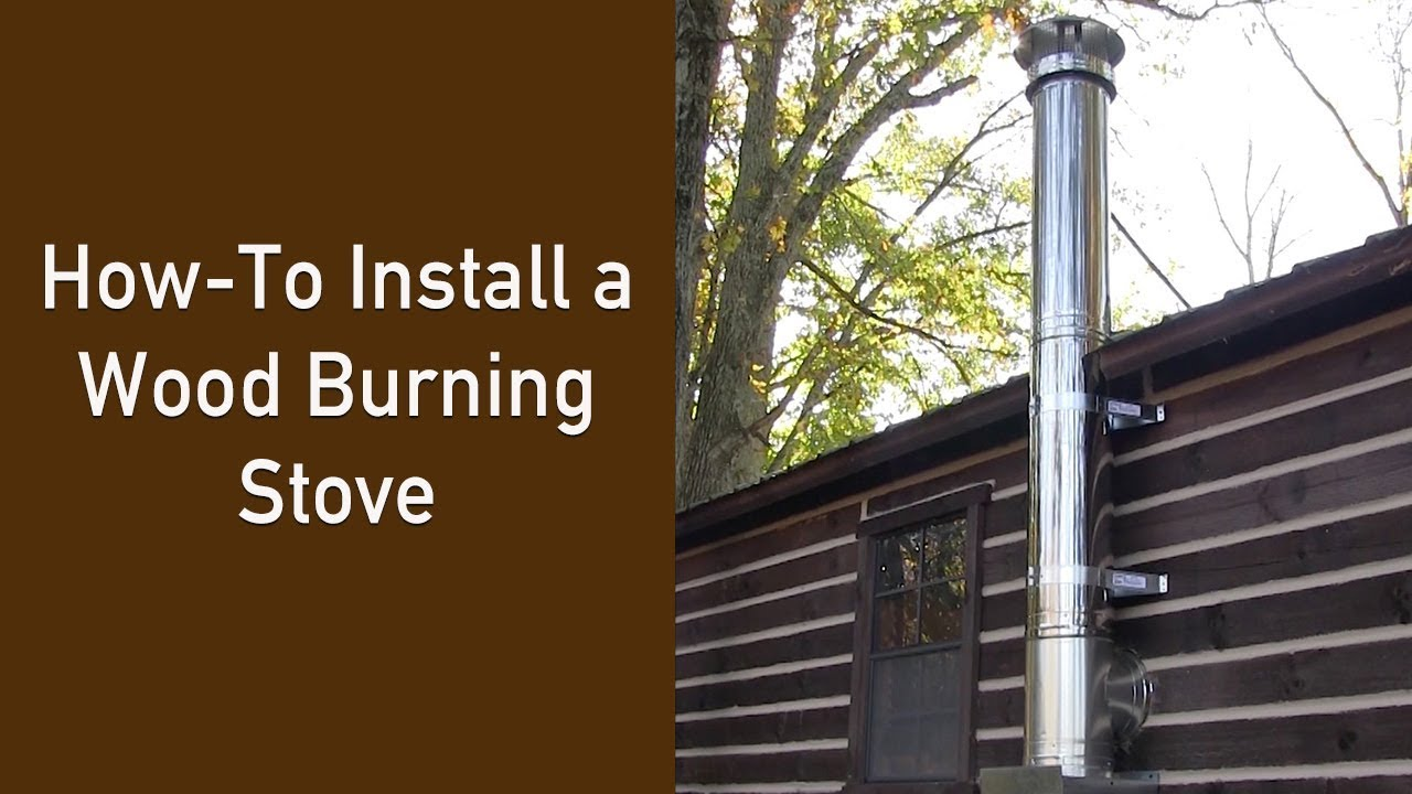 how to hook up a wood stove to a gas furnace