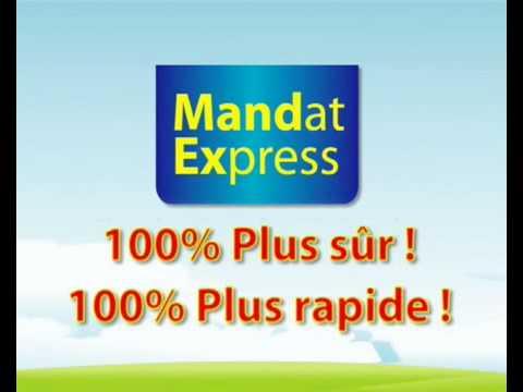 Mandat Express LA POSTE SA