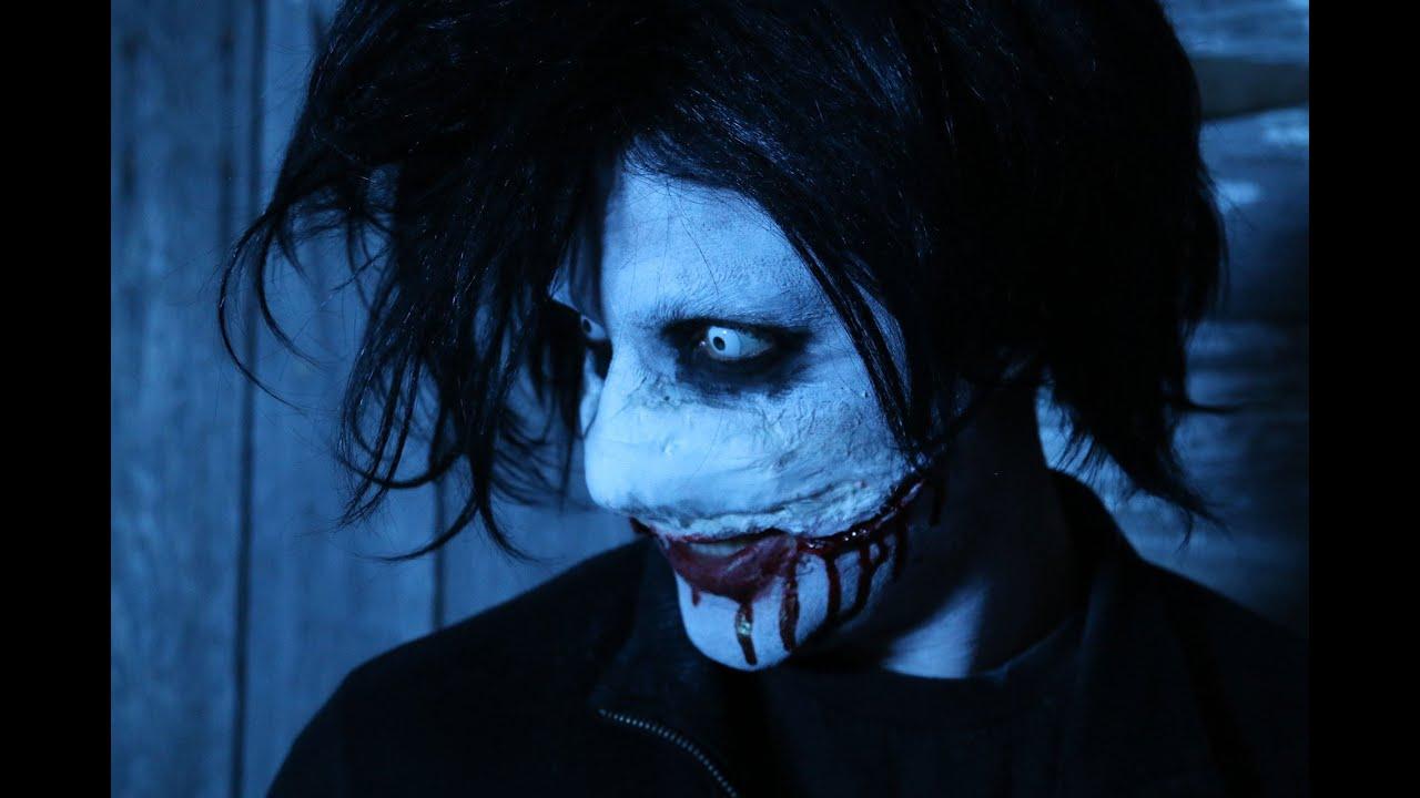 Jeff Killer Makeup Tutorial For Halloween