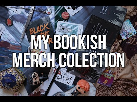 MY BOOKISH MERCH COLLECTION.
