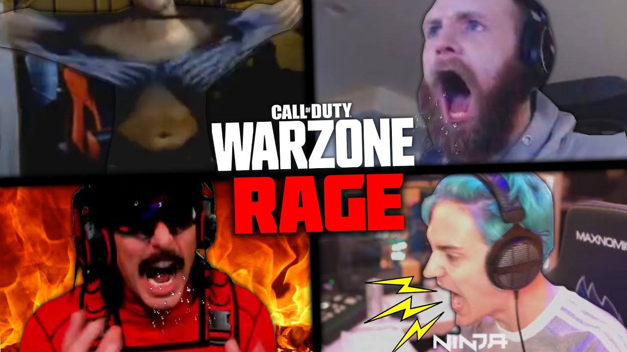 Ultimate Warzone RAGE Compilation