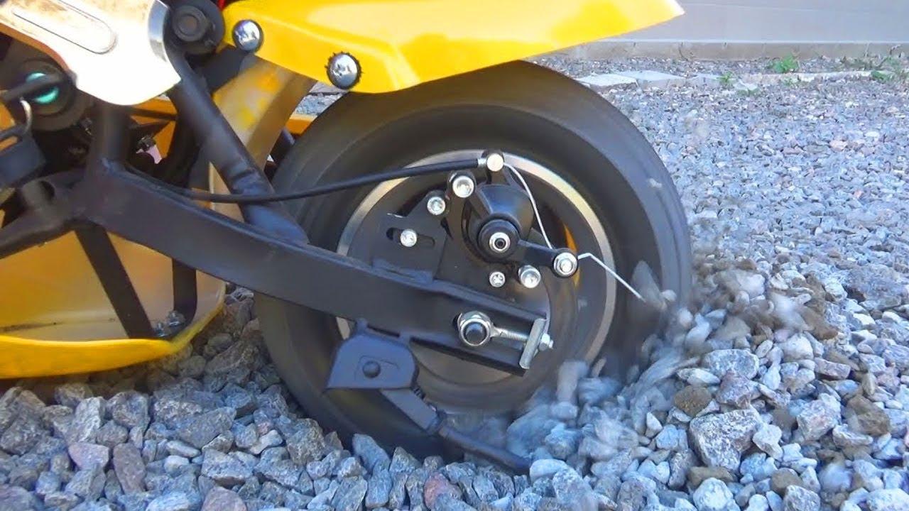 Power wheels Bike stuck in the sand