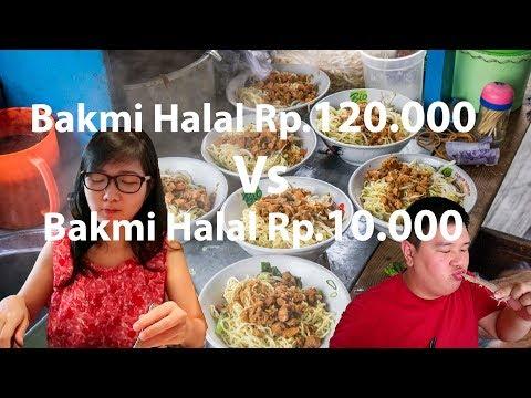 bakmi-halal-termahal-rp120.000-vs-bakmi-halal-termurah-rp10.000-di-indonesia-/-bakmi-ayam