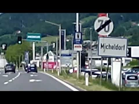 My Travel Vlog Exploring Austria/ Driving At Micheldorf Austria
