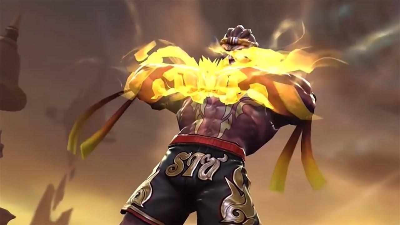 Raz New Skin Muay Thai Gameplay Trailer Arena Of Valor Aov Pro