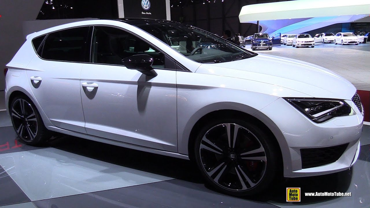 2015 seat leon cupra exterior and interior walkaround 2015 geneva motor show youtube - Seat leon interior ...