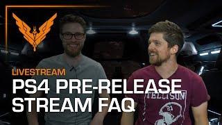 PS4 Pre-Release Livestream