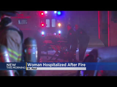 Woman Seriously Injured In St. Paul Fire