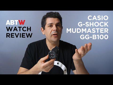 Casio G-Shock Mudmaster GG-B100 Watch Review | aBlogtoWatch