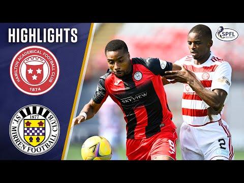 Hamilton St Mirren Goals And Highlights