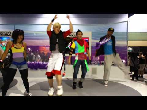 Dance Central 2 at PAX: Bodie and Glitch don't know Massive Attack