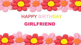 Girlfriend   Birthday Postcards & Postales - Happy Birthday