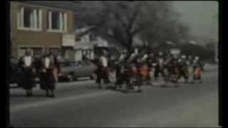 Lansing Good Neighbor Day Parade 1979 8mm Old Home Movie