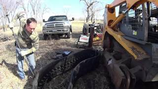 Skid Steer Track Replacement - Mustang MTL25 Part 6 - Track Installation