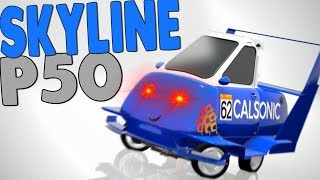 STREAM CHAT BUILD A PEEL P50 SKYLINE... (BeamNG / Automation)