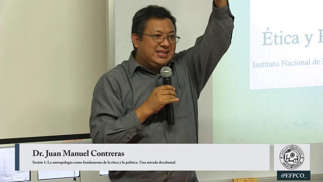 Juan Manuel Contreras - La antropología como fundamento de la ...