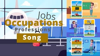 Jobs, Occupations or Professions Song | kids songs \u0026 nursery rhymes | Sweet Betsy from Pike