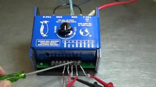 THE AUTO COOL III  A 125 AMP PWM RADIATOR FAN TEMP CONTROLLER