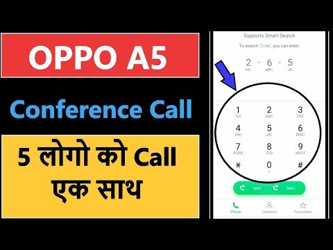 How to Make a Conference Call in oppo a5 - YouTube