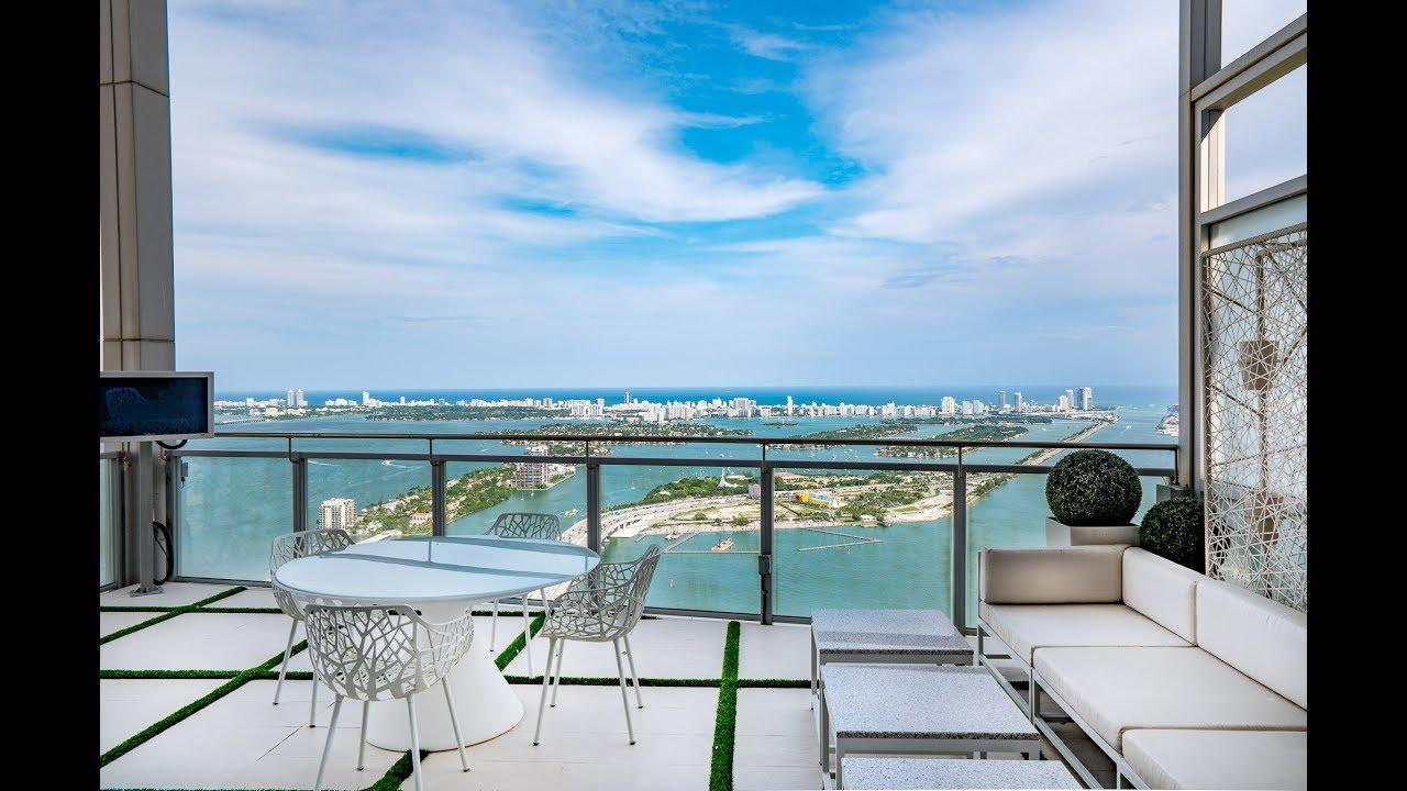 Marquis Penthouse | 1100 Biscayne Blvd #PH 6401 Miami, FL