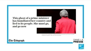 """""""Qui va nous débarasser de cette terrible Première ministre ?"""""""