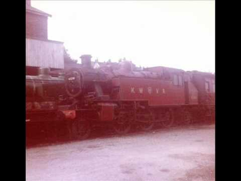 British Steam Locomotives Ivatt Mickey Mouse 2-6-2 Tanks 41312 At Barry Scrapyard And Mid Hants Etc